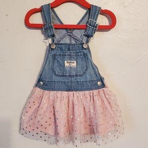 Toddler Overall Dress - 12 months